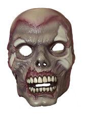 Zombie Skeleton Adult Latex Costume Mask