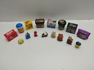 Shopkins-Real-Littles-Set-of-8-and-8-Food-Containers-from-Icy-Treats-Pre-owned