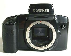 Canon-EOS-100-SLR-35mm-Film-Kamera-Schwarz-UK-Schnelle-Post