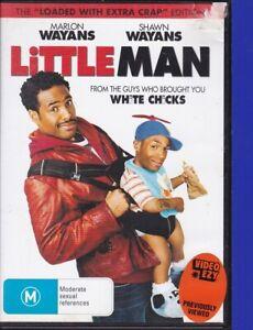 Little-Man-2j-DVD-2006-R4-Marlon-Wayans-Shawn-Wayans-Tested-Ex-Rental