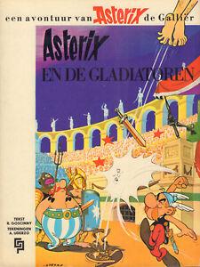 ASTERIX-EN-DE-GLADIATOREN-Uderzo-Goscinny-GEILLUSTREERDE-PERS-1971