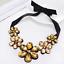 Fashion-Elegant-Women-Rhinestone-Crystal-Choker-Bib-Statement-Pendant-Necklace thumbnail 27