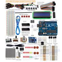 SunFounder New Lab Project Uno R3 + Super Starte Kit  For Arduino Mega 2560 Nano