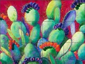 Cactus-Tile-Backsplash-Susan-Libby-Southwest-Art-Ceramic-Mural-SLA008