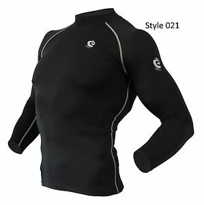 Mens-COOVY-Winter-Thermal-Compression-Base-layer-Athletic-Long-Sleeve-Cold-Gear