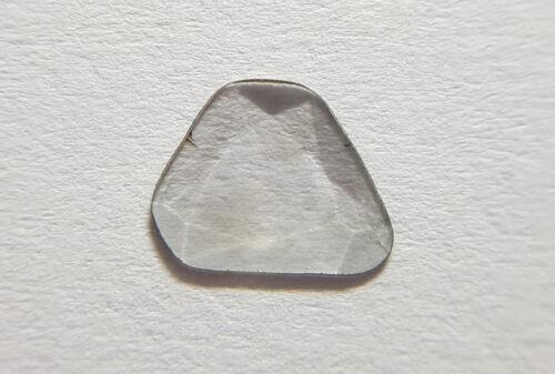 Diamante Natural plana Polki vs-claridad si I-J Color 1pc nontreated Rosa Corte
