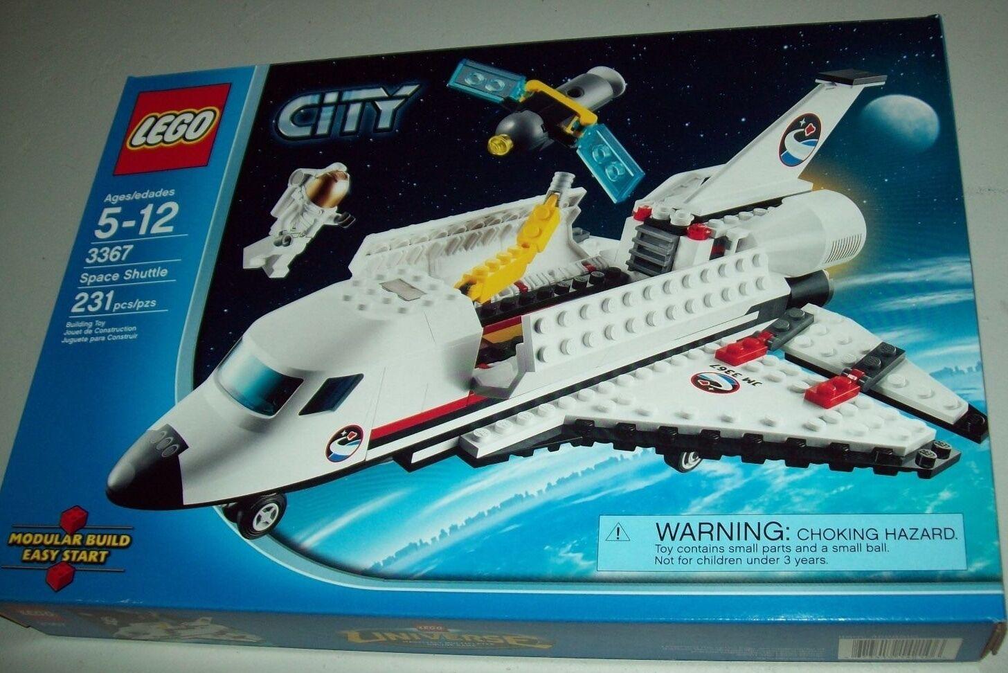 Lego City 3367 Space Shuttle ~ Nuovo Inscatolato ~ Ritirato