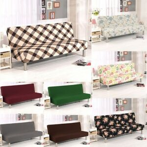 Sensational Details About Armless Sofa Bed Chair Cover Stretch Non Slip Folding Couch Futon Protector Us Bralicious Painted Fabric Chair Ideas Braliciousco