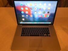 Apple MacBook Pro 17 CORE Pre-Retina Mac OS-2016 8GB RAM 1TB SSD HYBRID WARRANTY