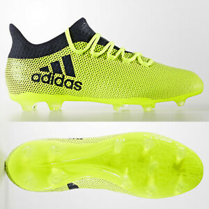 new product b6434 fab79 Details about adidas X 17.2 FG Mens Football Boots Firm Ground Narrow  Fitting Yellow £110 6-13