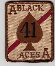 VFA-41 BLACK ACES DESERT COMMAND CHEST PATCH