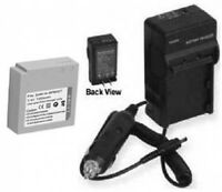 Battery + Charger For Samsung Sc-hmx10a Hmx-h106bp Smx-f3 Smx-f33 Smx-f33bn