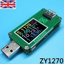 2016 OLED USB 3.0 Power Monitor QC2.0 QC3.0 Voltage Current coulometer Meter