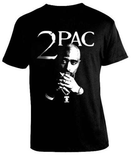 Hip Hop Cool Men T-shirt 2Pac Tupac Shakur King Rap