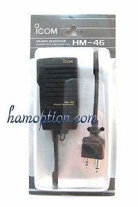 NEW-ICOM-HM-46-SP-Mic-for-IC-T2H-IC-T7H-IC-T90A-IC-E90-IC-W32A-IC-W32E-IC-2GXAT