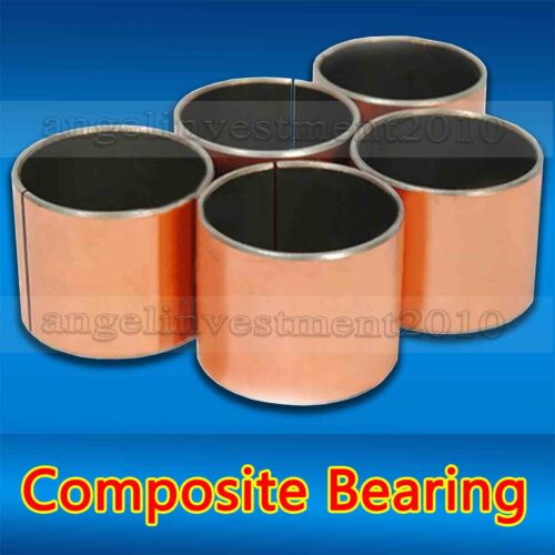25mm 34mm 10pcs SF-1self lubricating composite bearing bushing sleeve 30mm