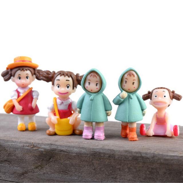 My Neighbor Totoro Movie Character Garden Ornament Miniature Figures Doll Toy Dz
