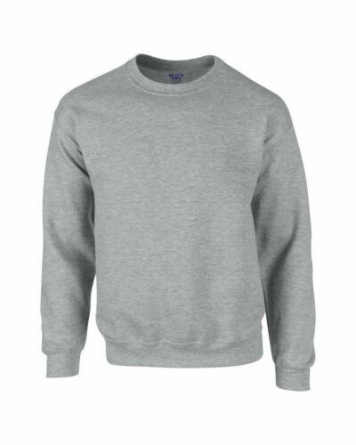 Gildan DryBlend Adult Crewneck Sweatshirt Casual Jumper  Top S M L XL 2XL
