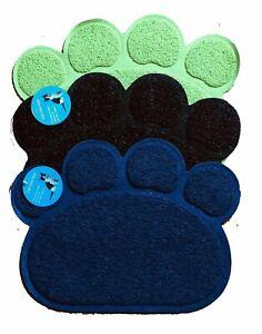 """Cat Litter MAT Non-Slip Smartgrip Paw-Shaped   waterproof  12/"""" x 15/"""""""