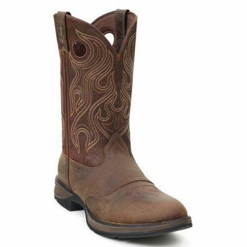 Rebel por Durango Hombre Marrón Sillín botas Cowboy Db5474