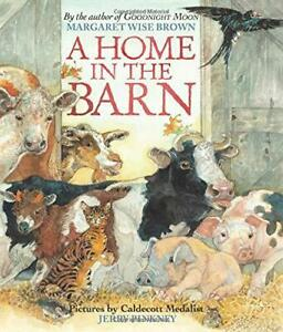 A-Home-in-the-Barn-by-Brown-Margaret-Wise-NEW-Book-FREE-amp-Har