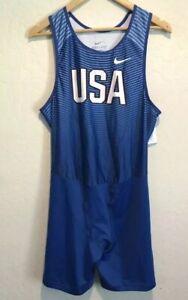Details about Nike Men's Dri Fit Team U.S.A Track & Field Running Singlet Sz. L NEW OLYMPICS