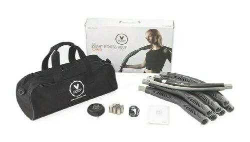VHOOP Smart Weighted Fitness Hoop Customizable Workout Fat Burning Combo Kit