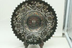 Rare Antique Dugan fantaisiste Violet Carnaval plaque de verre-bol-afficher le titre d`origine TSH7hsvy-09161707-927524125