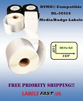 30324 Labels Compatible W/ Dymo® - 1-200 Rolls - Lowest Prices On Ebay