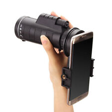 10x40 Hiking Concert Camera Lens Zoom Telescope Moncular Smart Phone Holder