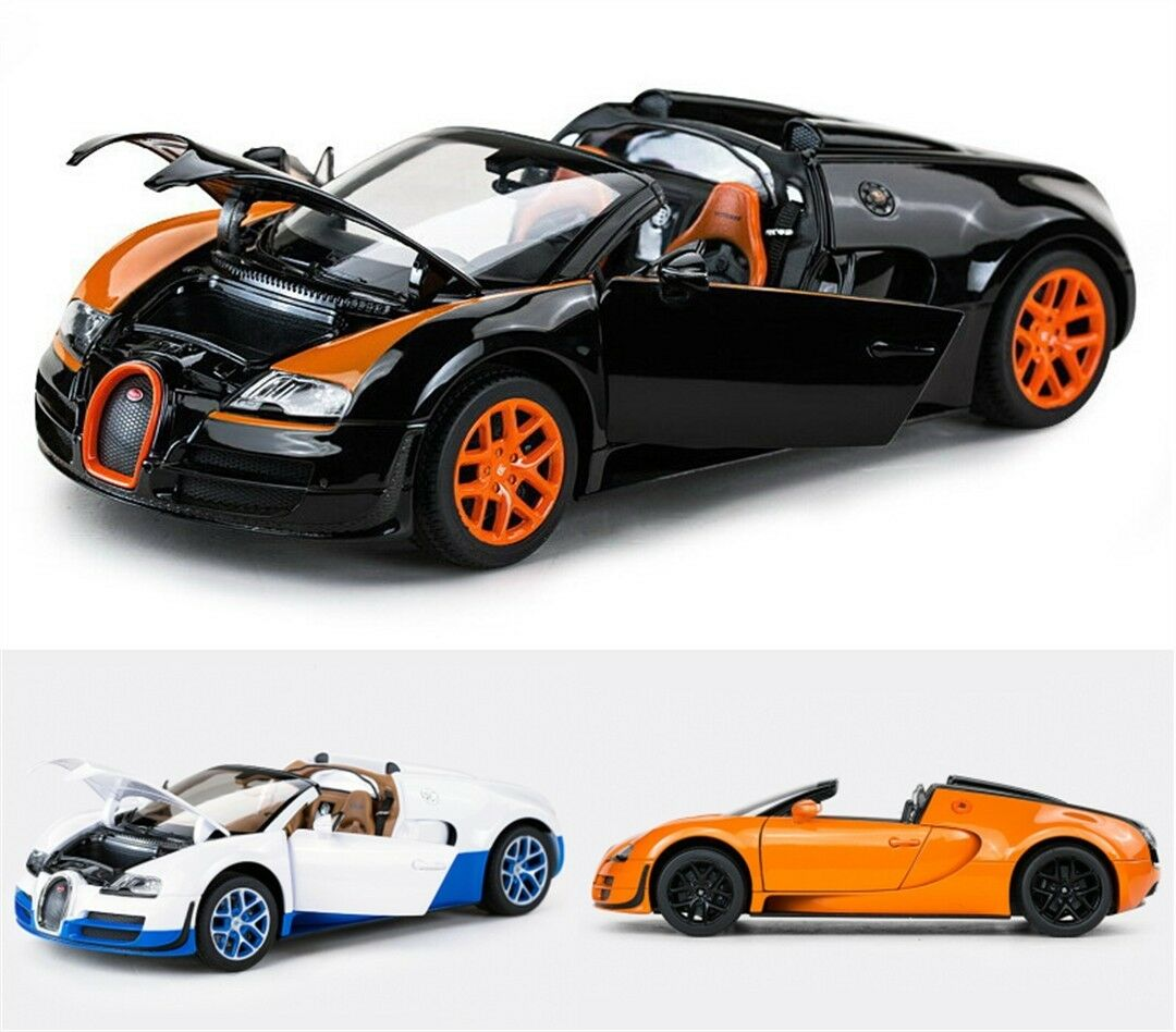 1 18 Bugatti Veyron Sports Car Model Gift Decoration Collection X1PC Xmas Gift