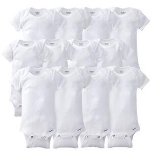 651d097ded Gerber Newborn Baby Grow With Me Onesies 12 Piece Set NEW Unisex ...