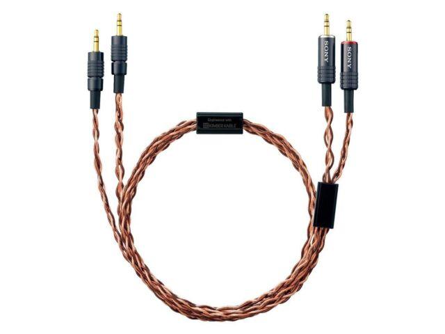 Sony Nuevo Cable de Auriculares 1.2M Muc-B12bl1 For Mdr-Z7 Japón Importación