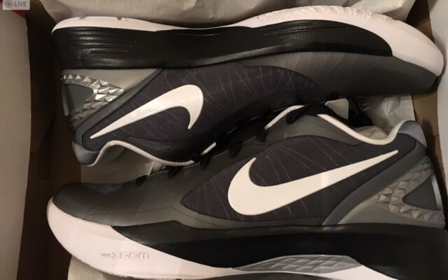 New Nike Zoom Volley Hyperspike Volleyball Shoe Black Silver 585763 011 size 13