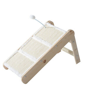 Cat Foldable Steps Scratcher Ladder
