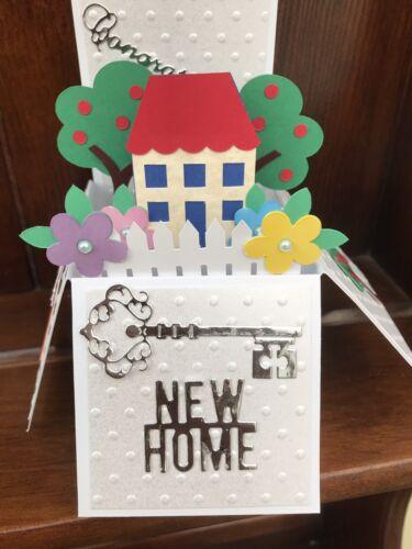 Nouvelle maison Pop Up Carte