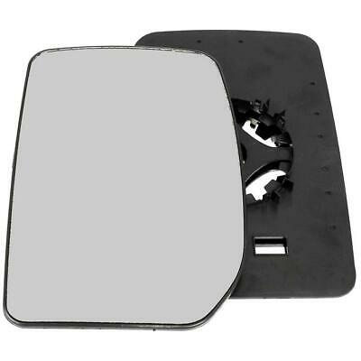 *Ford Transit MK6 MK7 Wing Door Mirror Glass Passenger side N//S LH  SMALL TRA601