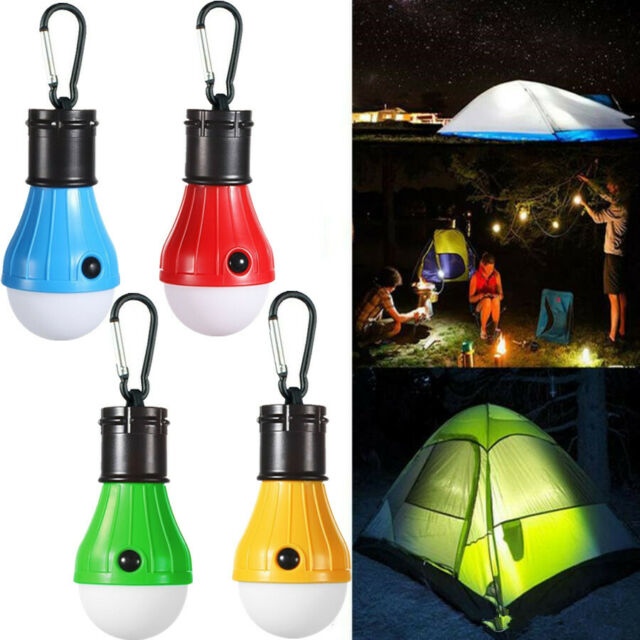 Camping Hanging Tent LED Bulb Hike Light Fishing Lantern Outdoor Emergency LaES
