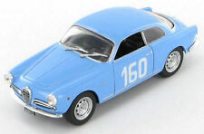 Alfa Romeo Giulietta Sprint Veloce  Manfredi - Piazza  Targa Florio 1957 1:43