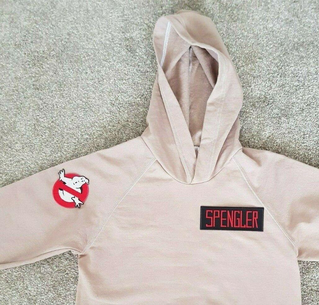 Ghostbusters Uniform style Hoodie Sweatshirt (cosplay costume casual)