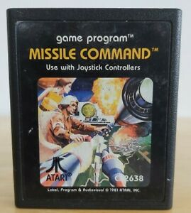 Missile Command - Atari 2600 - Game Cart only - VINTAGE
