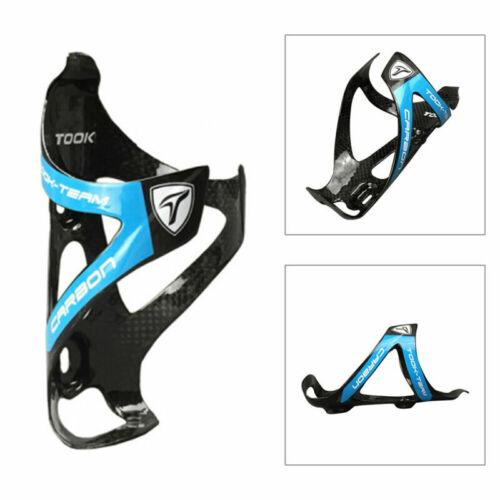 3K MTB Mountain Road Bike Bicycle Water Bottle Holder Rack Cage Carbon Fiber 26g