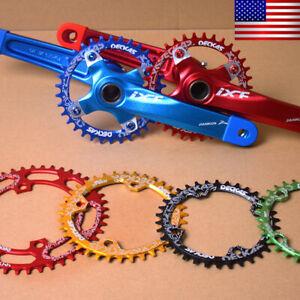 DECKAS-32-52t-104bcd-Narrow-Wide-Crankset-Cycling-MTB-Road-Bike-Crank-Chainring