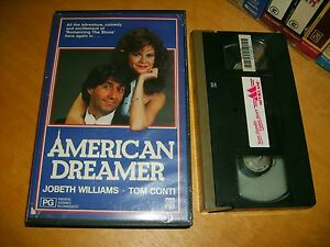 American-Dreamer-1984-Australian-CBS-FOX-1st-Vhs-Issue-Classic-Comedy-Thriller