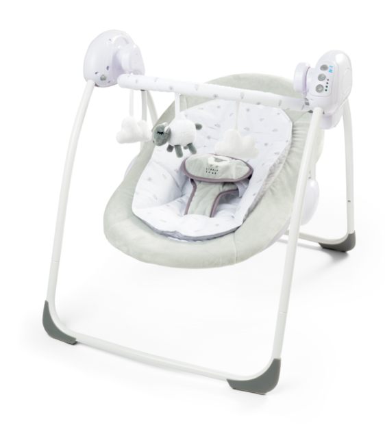 Clearance Foldable Baby Bouncer Little Lamb First Swing Soothing Music Toys 079 Ebay