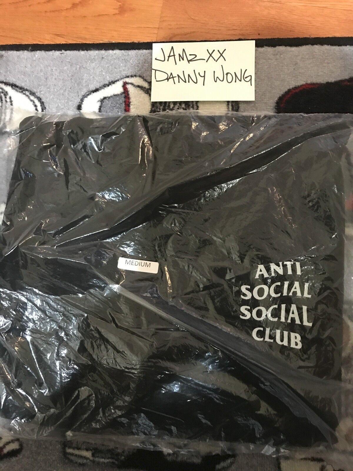 Anti Social Social Club  Mind Games Hoodie ASSC Größe M DS BNIB