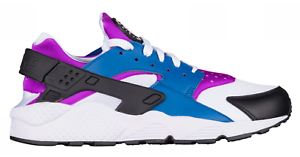 quality design 98572 942d2 Image is loading Nike-Men-039-s-AIR-HUARACHE-BLUE-JAY-