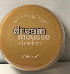 Details about Maybelline Dream Mousse Shadow Gold Aura
