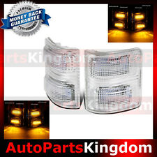 Clear Lens AMBER LED Side Mirror Marker Light 2008-2016 Ford F250 F350 F450 F550