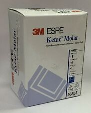 Genuine 3M ESPE Ketac Molar Glass Ionomer Filling / Core Buildup / lining #56653